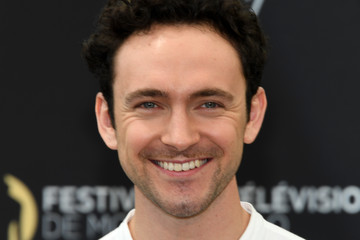 George Blagden 57th Monte Carlo TV Festival : Day 2