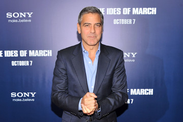 "George Clooney ""The Ides Of March"" New York Premiere - Inside Arrivals"