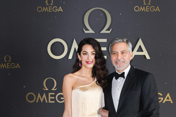 George Clooney Amal Clooney OMEGA 50th Anniversary Moon Landing Event