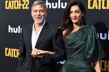 George Clooney Amal Clooney US Premiere Of Hulu's 'Catch-22'  - Red Carpet