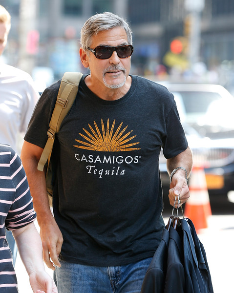 George Clooney attends the First Taping of 'The Late Show With Stephen Colbert'  8th September 2015 George+Clooney+Celebrities+Attend+First+Taping+DU-Tf8afxNKl