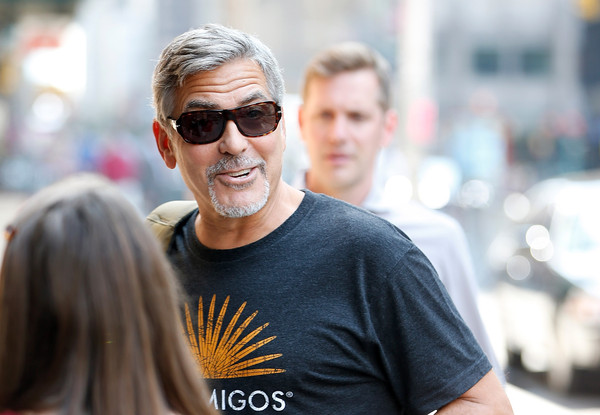 George Clooney attends the First Taping of 'The Late Show With Stephen Colbert'  8th September 2015 George+Clooney+Celebrities+Attend+First+Taping+EbxDMVVO-C-l