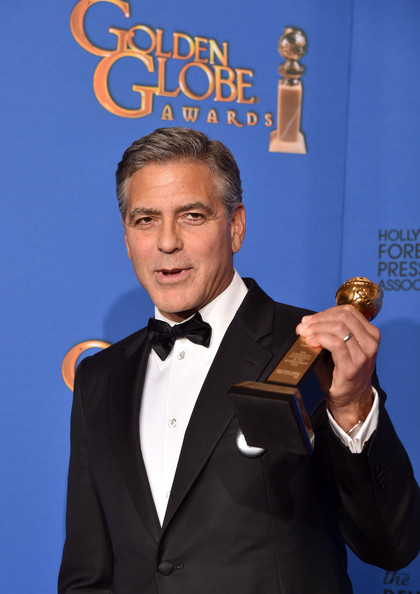 George Clooney at the Golden Globes January 2015 - Page 6 George+Clooney+Golden+Globes+Press+Room+5oY5g_xyICul
