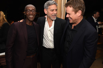 George Clooney Matt Damon US Premiere Of Hulu's 'Catch-22' - After Party