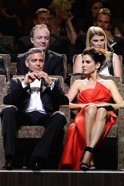 George Clooney and Sandra Bullock at the evening premiere of Gravity at Venice Film Festival George+Clooney+Opening+Ceremony+Inside+70th+a85rtjhezutl