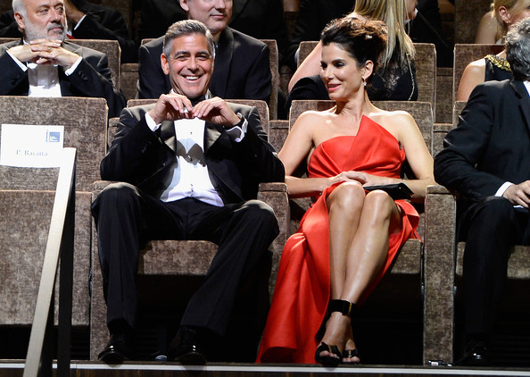 George Clooney and Sandra Bullock at the evening premiere of Gravity at Venice Film Festival George+Clooney+Opening+Ceremony+Inside+70th+xgYZzvOaNvTl