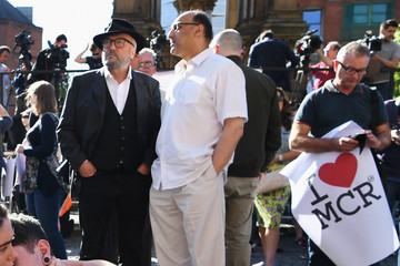 George Galloway Manchester Comes Together to Remember Victims of Terror Attack
