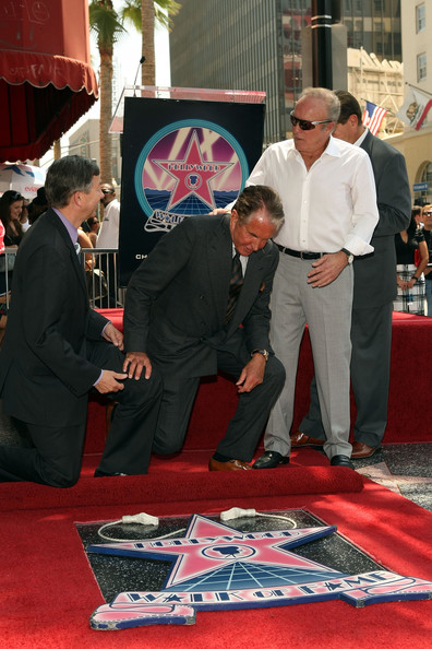 George Hamilton Honored On The Hollywood Walk Of Fame