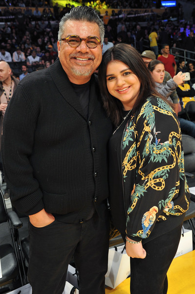 Celebrities Visit the Los Angeles Lakers Game