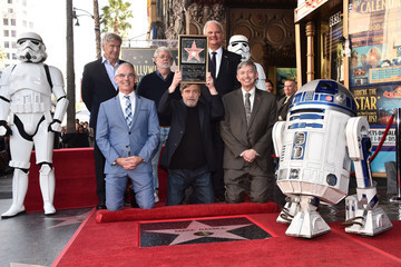 George Lucas Mark Hamill Is Honored With A Star On The Hollywood Walk Of Fame