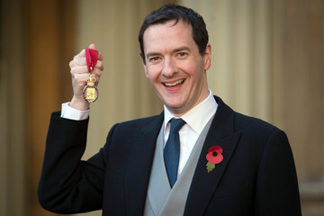 George Osborne Investitures at Buckingham Palace