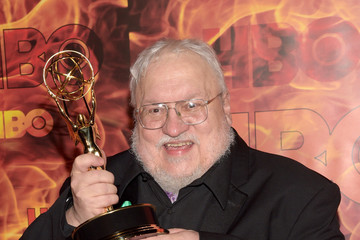 George R.R. Martin HBO's Official 2015 Emmy After Party - Arrivals