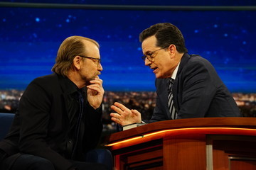 "George Saunders CBS's ""The Late Show with Stephen Colbert"" - Season Two"