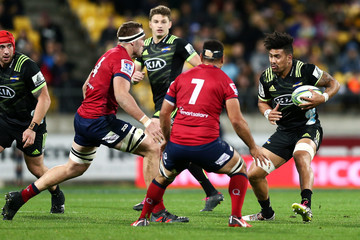 George Smith Super Rugby Rd 14 - Hurricanes Vs. Reds