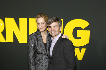 """George Stephanopoulos Ali Wentworth Apple's """"The Morning Show"""" Global Premiere"""