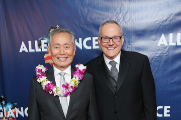 George Takei Brad Takei 'Allegiance' Broadway Opening Night - After Party