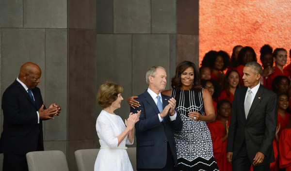 37df3dd5976a1 George W Bush and Michelle Obama Photos»Photostream · Pictures · The  National Museum of African American History and Culture Opens in  Washington, D.C.
