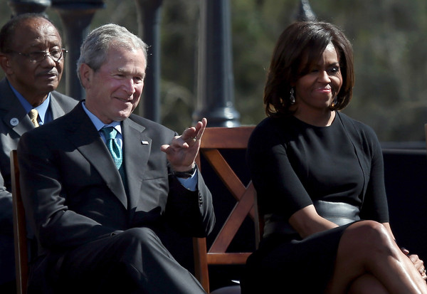 afb6a23b1d1c0 George W Bush and Michelle Obama Photos»Photostream · Pictures · Selma  Commemorates 50th Anniversary Of Historic Civil Rights March