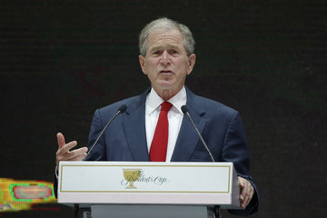George W Bush The Presidents Cup - Preview Day 3