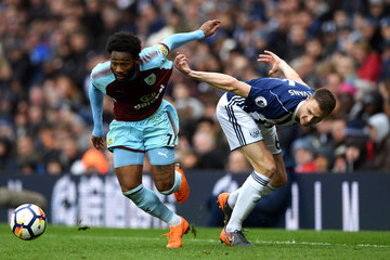 Georges-Kevin Nkoudou West Bromwich Albion vs. Burnley - Premier League