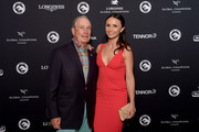 Michael Bloomberg and Georgina Bloomberg attend the Celebration of The Inaugural Longines Global Champions Tour Of New York with Georgina Bloomberg And The New York Empire GCL Team at Manhatta on September 28, 2019 in New York City.