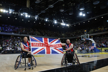 Geraint Price Invictus Games - Day Three - Wheelchair Basketball