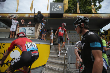 Geraint Thomas Le Tour de France 2014 - Stage Fourteen