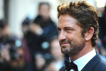 Gerard Butler Arrivals at the GQ Men of the Year Awards
