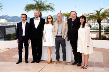 Gerard Depardieu Isabelle Huppert 'Valley of Love' Photocall - The 68th Annual Cannes Film Festival