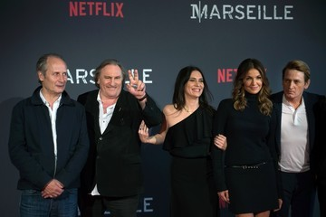Gerard Depardieu 'Marseille' Netflix TV Series Wold Premiere at Palais Du Pharo in Marseille