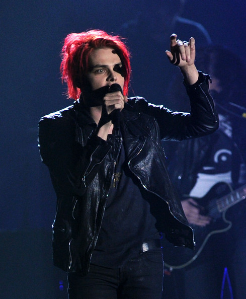 Gerard Way Musician Gerard Way from the musical group My Chemical ...