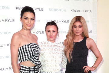 Geri Hirsch Kendall and Kylie Jenner Celebrate Kendall + Kylie Collection at Nordstrom Private Luncheon