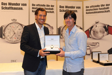 Henrik Ekdahl Germany Football Squad Members Presented With IWC Wristwatches