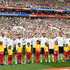 Jerome Boateng Mats Hummels Photos - The Germany team pose for a team line up for national anthem prior to the 2018 FIFA World Cup Russia group F match between Germany and Mexico at Luzhniki Stadium on June 17, 2018 in Moscow, Russia. - Germany vs. Mexico: Group F - 2018 FIFA World Cup Russia