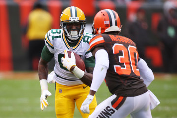 Geronimo Allison Green Bay Packers v Cleveland Browns