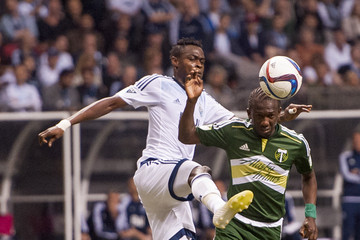 Gershon Koffie Portland Timbers v Vancouver Whitecaps