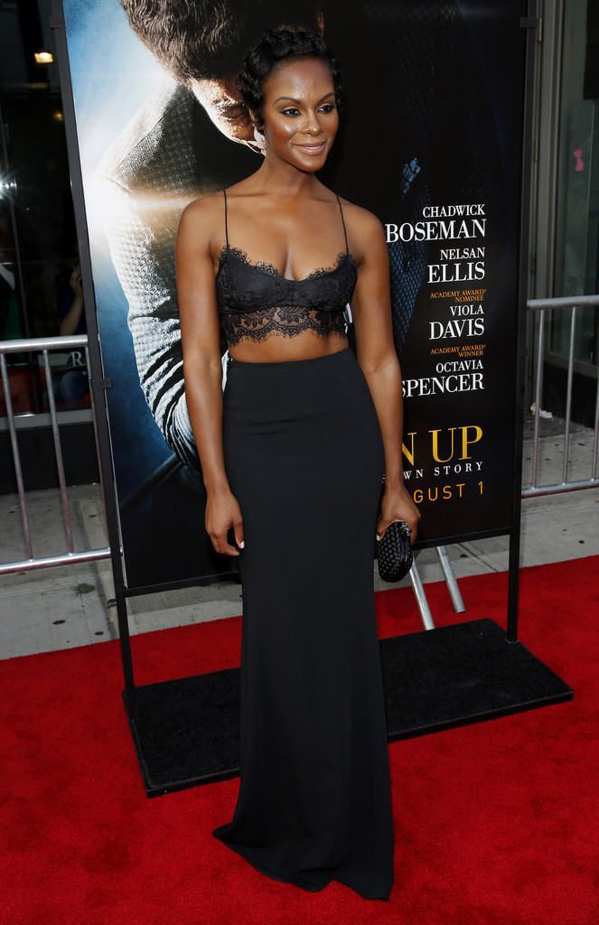 Tika Sumpter in 'Get On Up' Premieres in NYC 1 of 9 - Zimbio