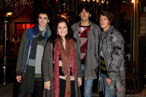 Missoni Family Showcases The A/W 2010 Missoni Menswear Collection