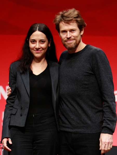Giada Colagrande (L to R) Director Giada Colagrande and actor Willem Dafoe attend a press conference of 'A Man in a Woman' at the Centum city during the 15th Pusan International Film Festival (PIFF) on October 8, 2010 in Busan, South Korea. The biggest film festival in Asia showcases 306 films from 67 countries and runs from October 7-15.