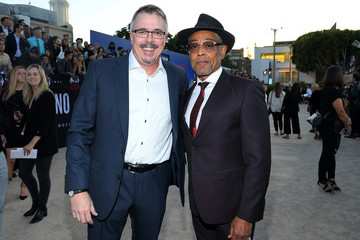 Giancarlo Esposito Vince Gilligan Netflix Hosts The World Premiere For 'El Camino: A Breaking Bad Movie' In L.A.