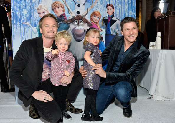 Gideon Burtka Harris - 'Frozen' Premieres in Hollywood — Part 2