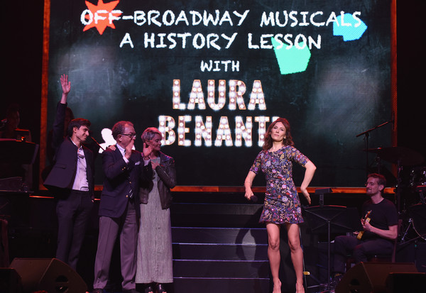 The 63rd Annual Obie Awards - Inside [entertainment,performance,stage,performing arts,event,performance art,musical theatre,heater,talent show,music,gideon glick,laura benanti,william ivey long,beth malone,stage,new york city,terminal 5,annual obie awards,the 63rd annual obie awards]