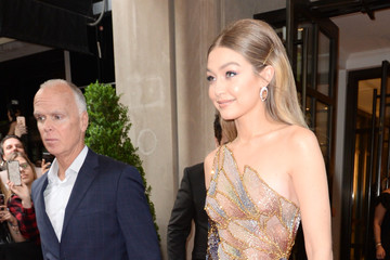Gigi Hadid The Mark Hotel Celebrates The 2018 Met Gala
