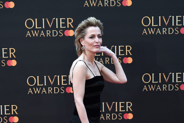 Gillian Anderson The Olivier Awards 2019 With MasterCard - Red Carpet Arrivals
