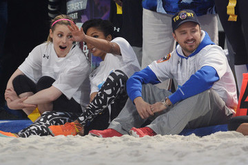 Gillian Jacobs DirecTV Celebrity Beach Bowl - Game