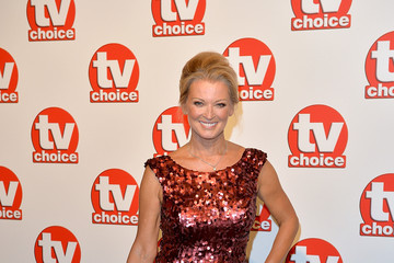 Gillian Taylforth TV Choice Awards - Red Carpet Arrivals
