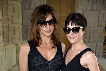 Gina Gershon M.A.C Cosmetics with Zac Posen Luncheon at the Ennis House
