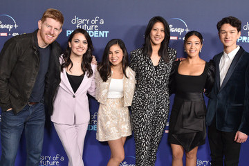 """Gina Rodriguez Premiere Of Disney +'s """"Diary Of A Future President"""" - Arrivals"""
