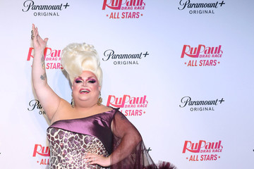 Ginger Minj Paramount+ & RuPaul's Drag Race All Stars Cast Celebrate The S6 Premiere At Drive n' Drag In New York City