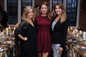 Ginger Zee Women's Health RUN10 FEED10 Pre-Race Pasta Dinner At Laura Frerer-Schmidt Private Loft